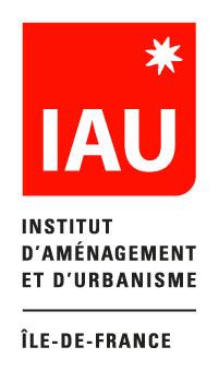 logo de l'Institut d'aménagement et d'urbanisme Ile-de-France IAU îdF