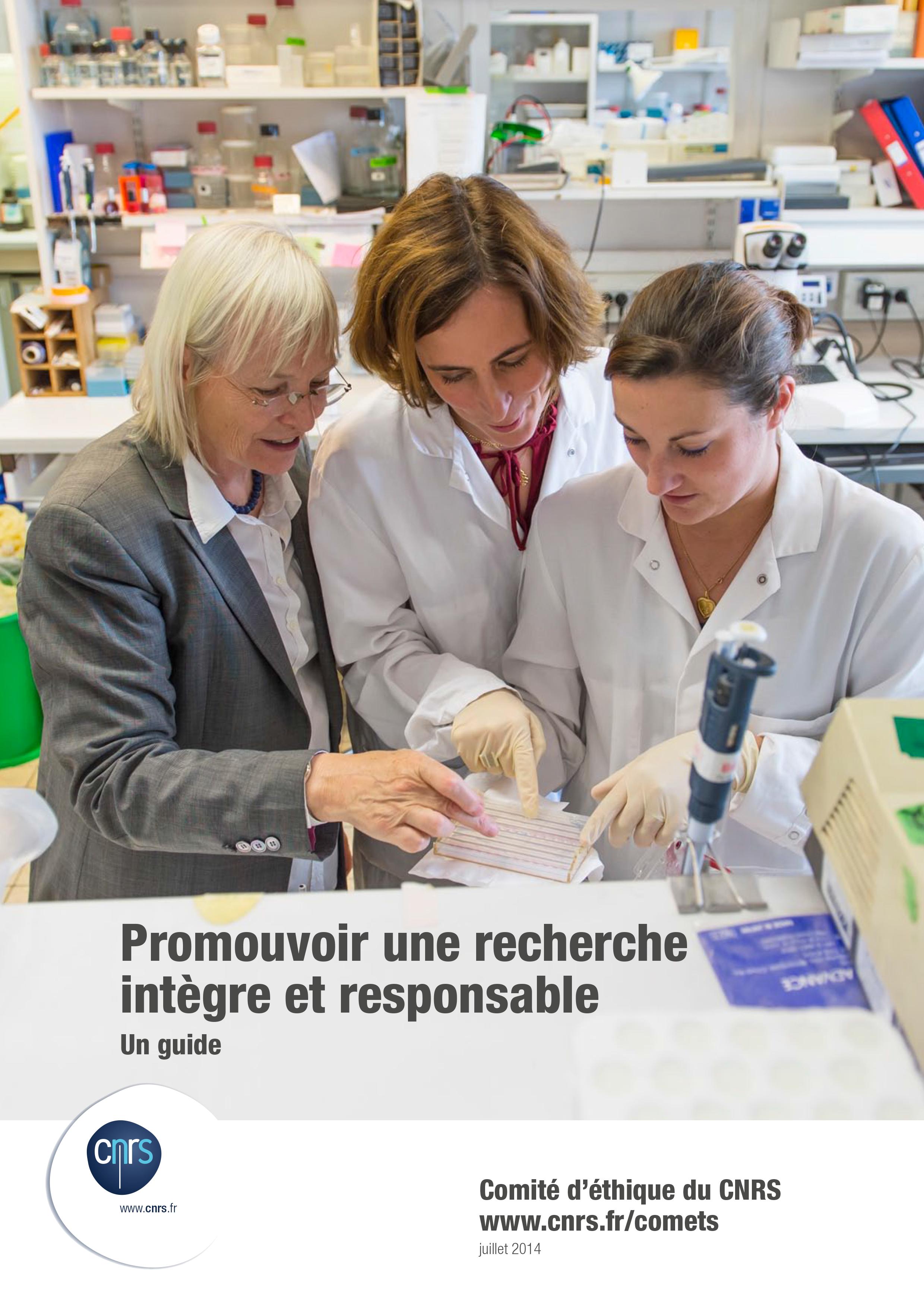 Comité d'éthique du CNRS, 2014