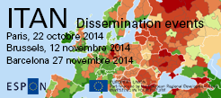 ITAN dissemination events, 2014