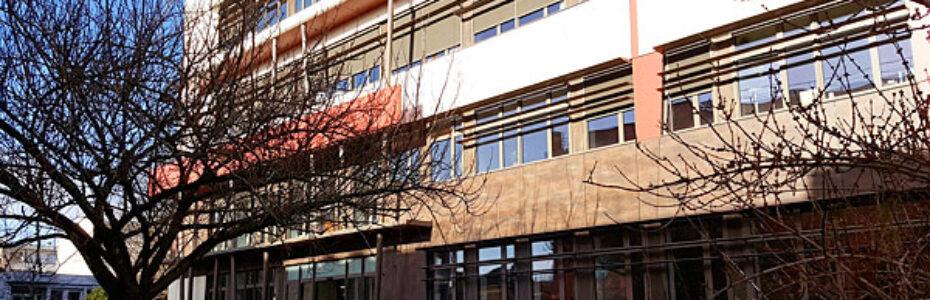 Façade rénovée du bâtiment accueillant la délégation CNRS Paris-Villejuif. © Silvia Pourquié