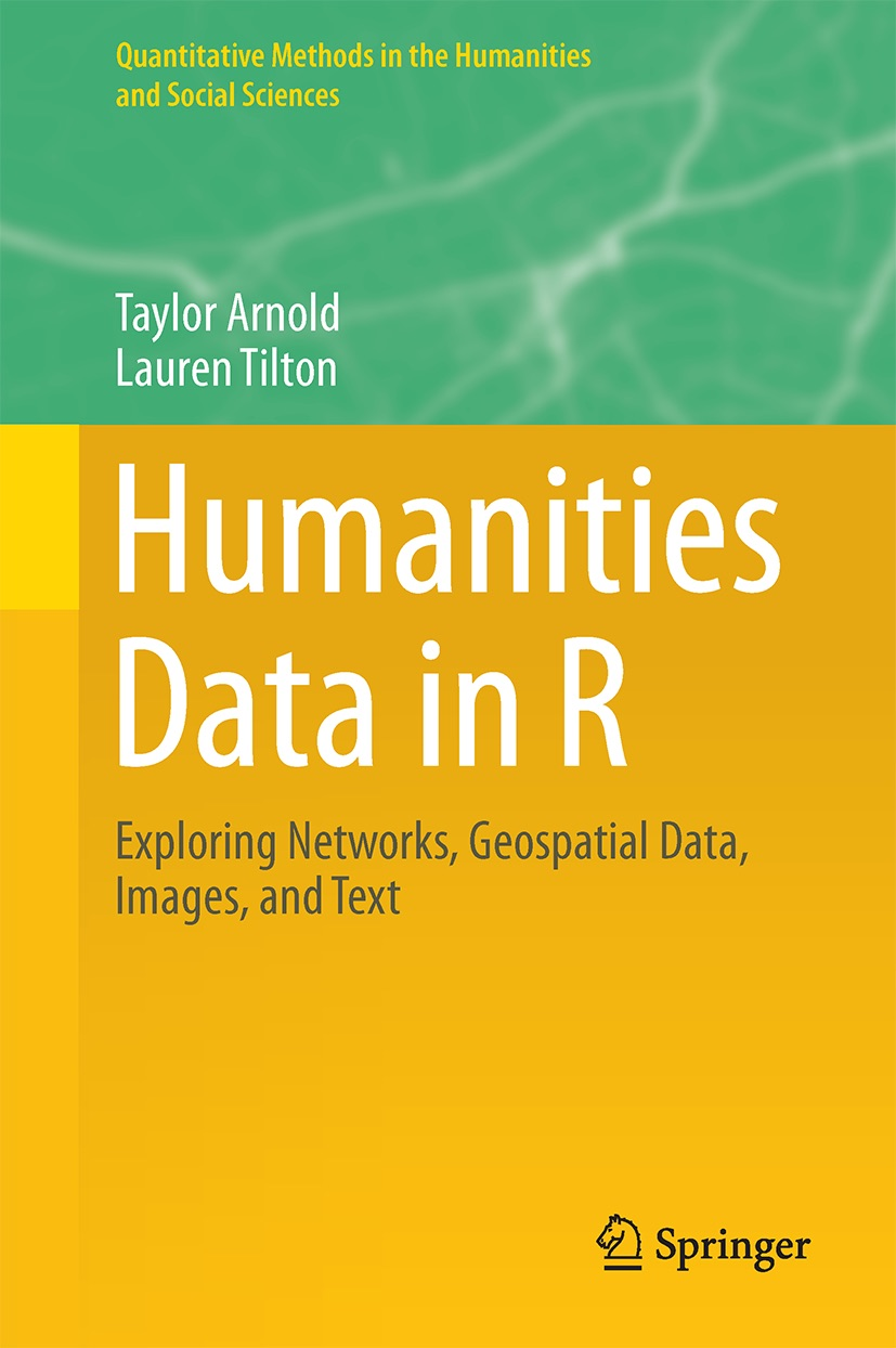 Couverture de l'ouvrage Humanities Data in R, Springer