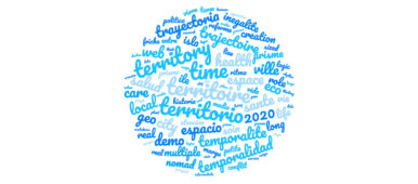 Nuage de mots créé à partir de l'appel à communications CIST2020